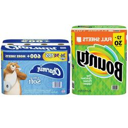 Combo Pack - Bounty Paper Towels, Full Sheet & Charmin Ultra