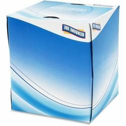 Genuine Joe Cube Box Facial Tissue, 36 Boxes