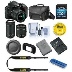 Nikon D3500 Camera with NIKKOR 18-55mm and 70-300mm Lens Kit