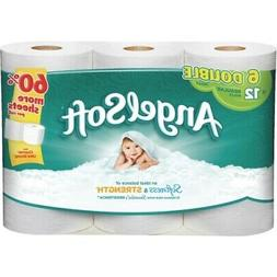 Angel Soft Dble Roll 2 Ply Toilet Tissue 6 Ct, Pack of 20