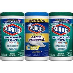 Clorox Disinfecting Wipes Pack Plus With Micro-Scrubbers Wip