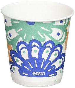 Dixie Disposable Bathroom Cups Coordinating Design 3 oz. - 1
