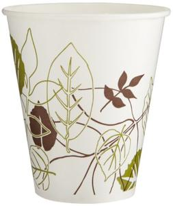 Dixie 12FPPATH Pathways Flair Poly Paper Cold Cup, 12 oz Cap