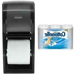 Kimberly-Clark Professional Double Roll Tissue Dispenser Wit