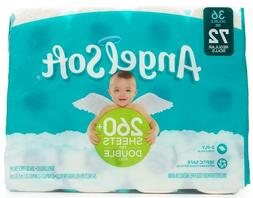 Angel Soft Double Rolls Bathroom Tissue Septic Safe Toilet P