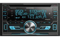 Kenwood DPX503BT Double Din CD Receiver with Bluetooth & Sir