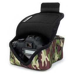 DSLR Camera Case/SLR Camera Sleeve  w/Neoprene Protection ,