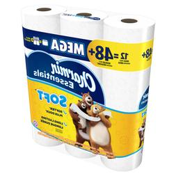 essentials soft toilet paper 12
