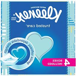 Kleenex Trusted Care Everyday Facial Tissues, Cube Box, 55 T