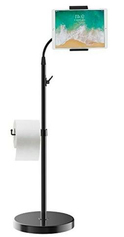 JETech Floor Stand Height-Adjustable Gooseneck with Toilet P