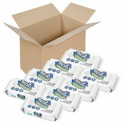 Scott Flushable Wipes, No Added Fragrance, 8 Soft Packs with