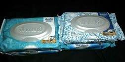 flushable wipes 42 count x2 to packs