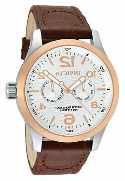 Invicta Men's 13010 I-Force Stainless Steel Watch with Brown