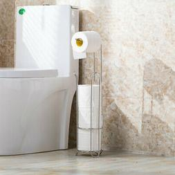 Free Standing Toilet Paper Holder for Bathroom Home Storage