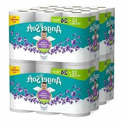 Angel Soft Fresh Lavender Scented Toilet Paper 48 Double Rol