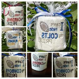 FUNNY TOILET PAPER GAG GIFT, FOR THE SPORTS LOVER . BIRTHDAY