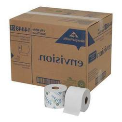 GEORGIA PACIFIC 14448/01 Toilet Paper, Envision, 1-Ply, 1500