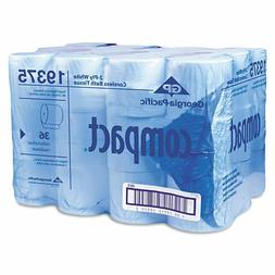 Georgia Pacific Compact Toilet Tissue, Coreless, 1000 Sheets
