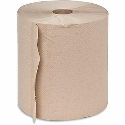 Genuine Joe GJO22600 Hard Wound Roll Towel, 800' Length x 7-