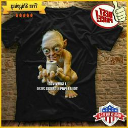 Gollum I Survived Toilet Paper Crisis 2020 Men's US T-Shirt