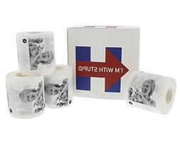 Hillary Clinton 2016 Election Gag Gift Toilet Paper by Juval