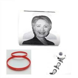 Hillary Clinton Toilet Paper, Novelty Political Gag Gift