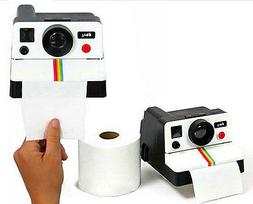 Home Decor Retro Camera Shaped Toilet Paper Tissue Roll Hold