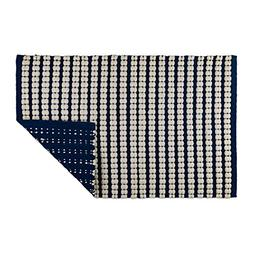 DII Indoor Braided Cotton Handloomed Yarn Dyed Woven Reversi