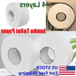 Jumbo Roll Toilet Paper 4-Ply Strong Soft Bath Tissues Nativ