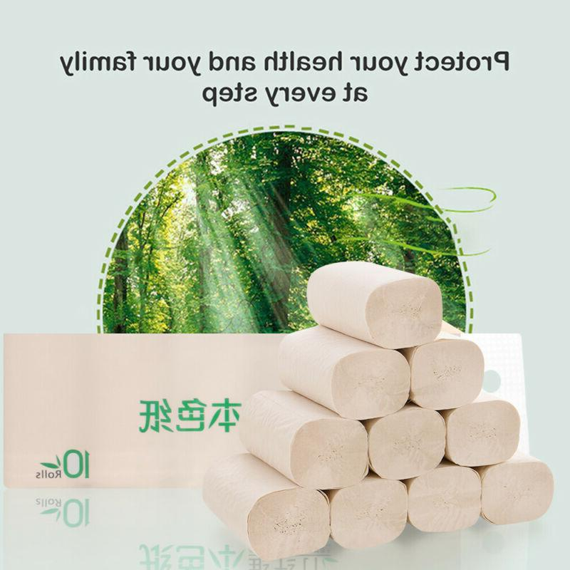 10 Bamboo Paper Tissues Bathroom Primary Ply*