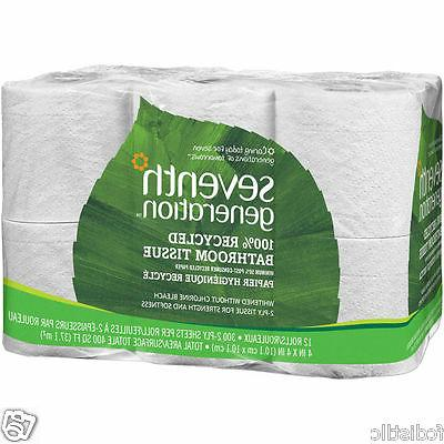 Seventh Generation 100% Recycled Bath Tissue 2-Ply White 24c