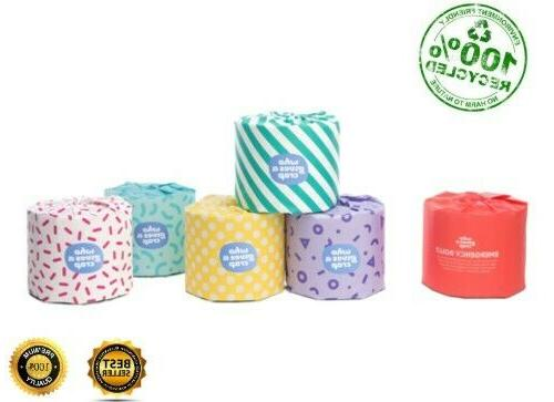 100% RECYCLED 3-PLY JUMBO your the world