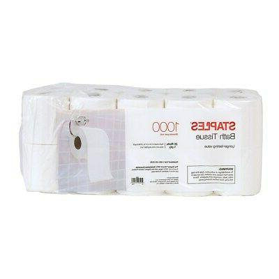 Staples Sheet Bath Tissue 1-Ply 2537640