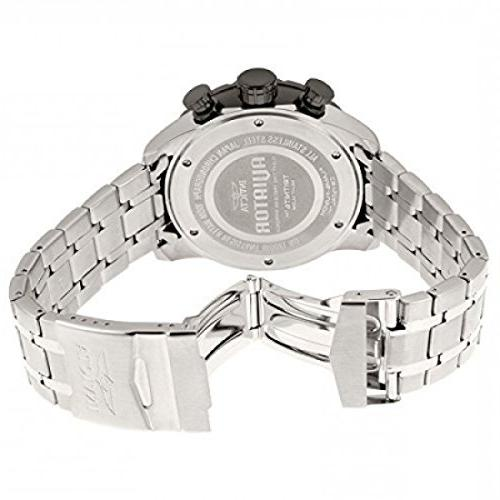Invicta AVIATOR Stainless Casual Watch