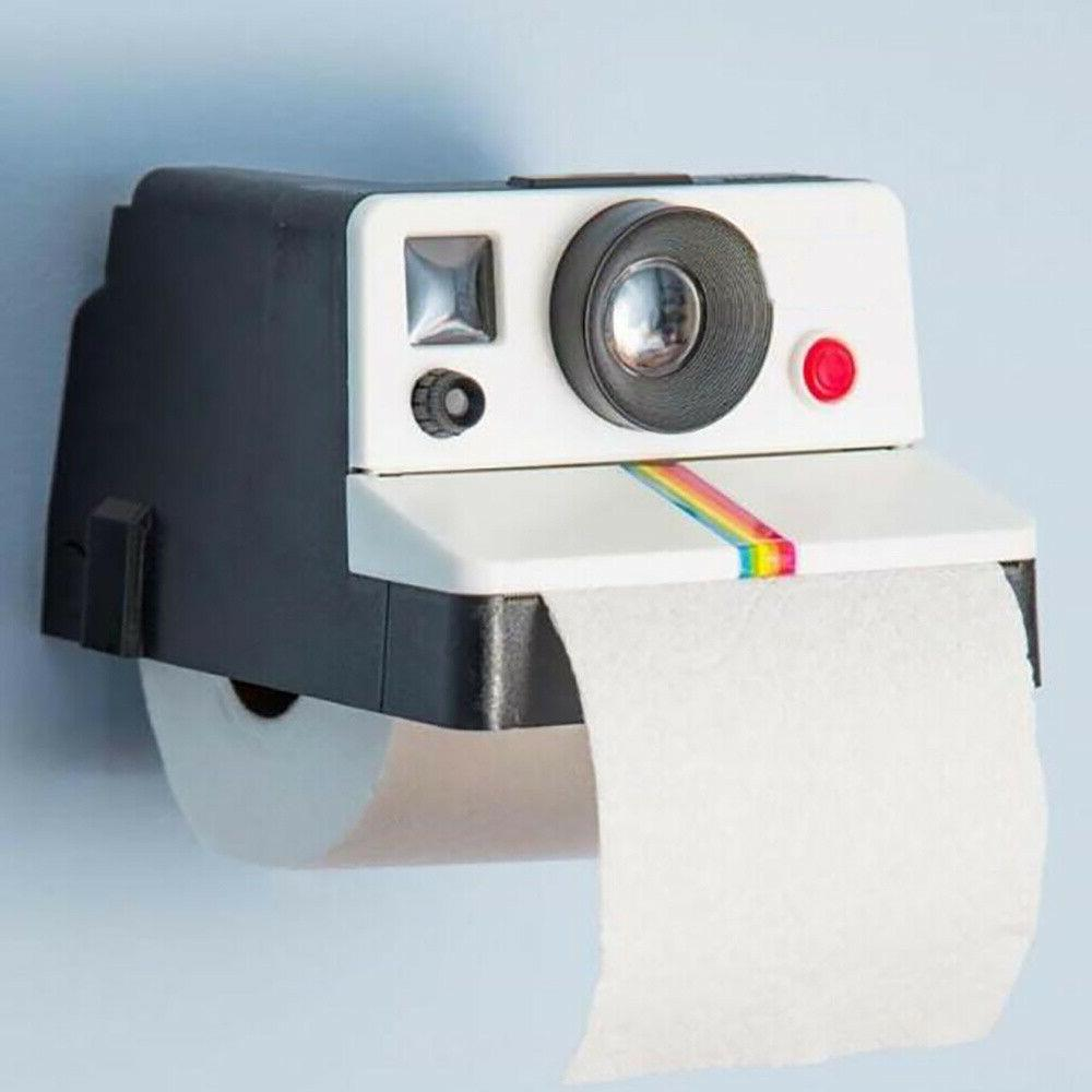 Camera Shaped Toilet Paper Box Tissue Roll Holder Covers Toi