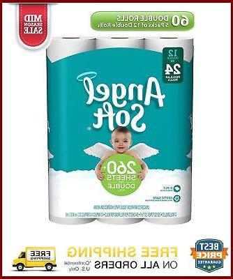 Angel Soft Toilet 60 Bath Pack 5 With 12 Rolls Each