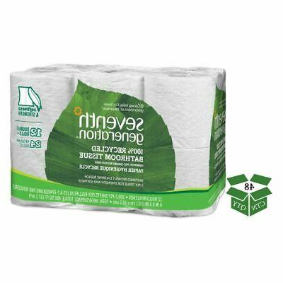Seventh Generation Standard 2-Ply Toilet Paper, 48 Rolls