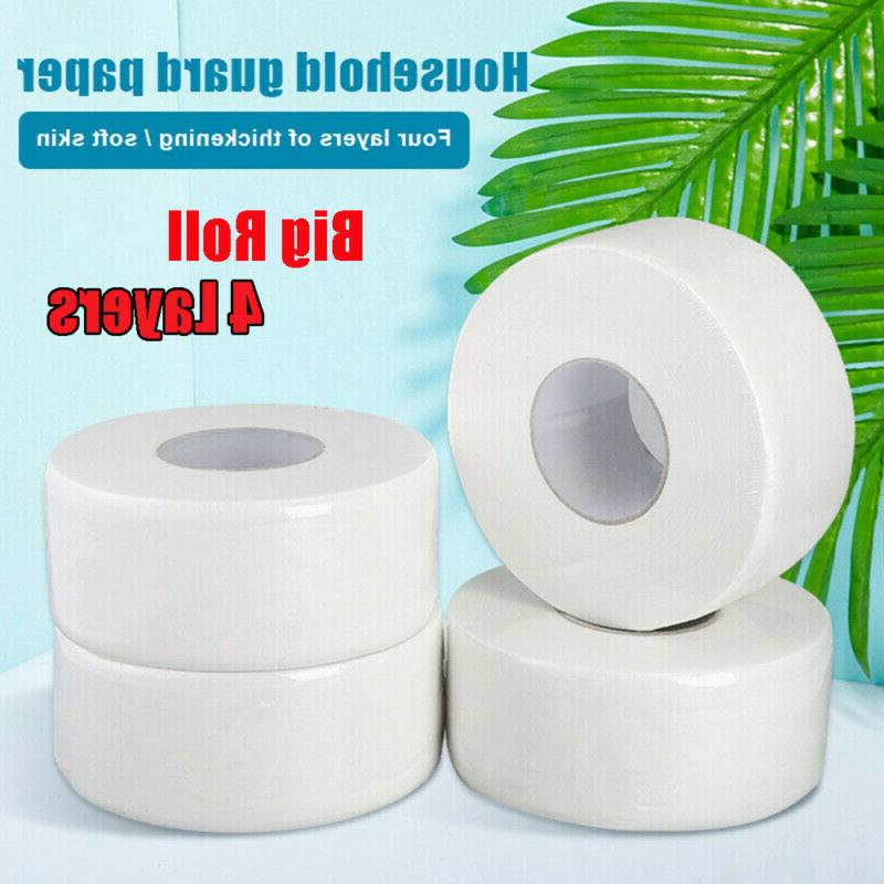 Jumbo Roll Paper 4-Ply Strong Tissues Native 2000Ft