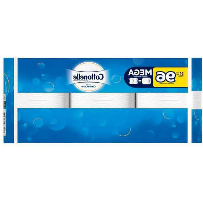 24=96 Rolls Cottonelle Ultra Clean Care Tissue NEW