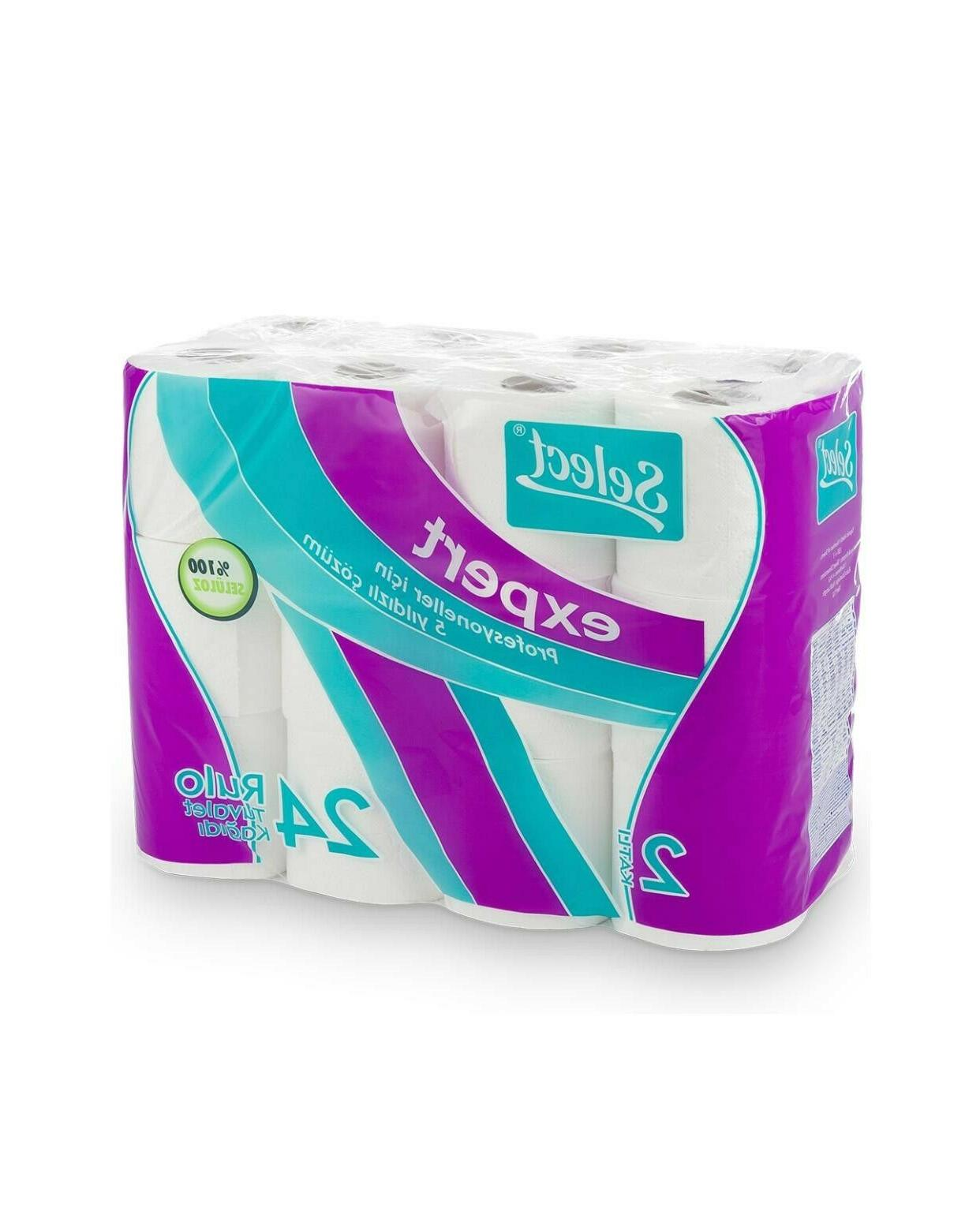 24 Select Toilet 2 Ply, %100 cellulose