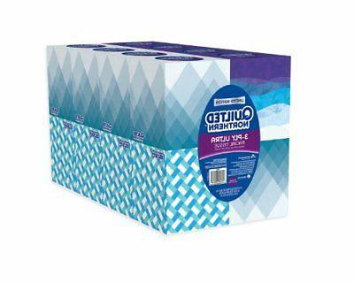 Quilted Northern 3-PLY Ultra Facial Tissue 16 Cube Boxes