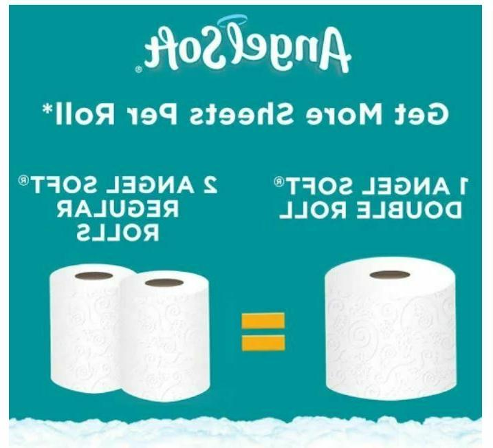 36 Rolls Soft Double Rolls 2-Ply FREE SHIPPING