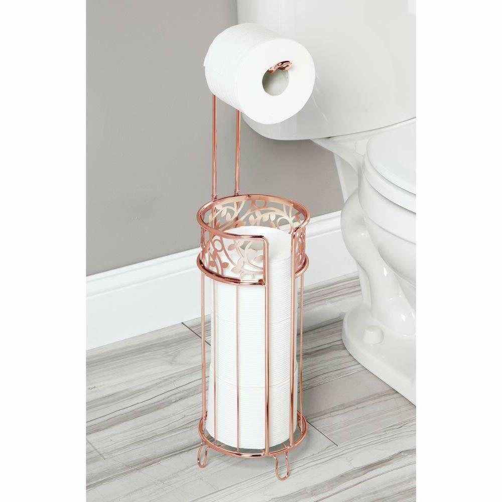 4 Roll Toilet Paper Dispenser Stand