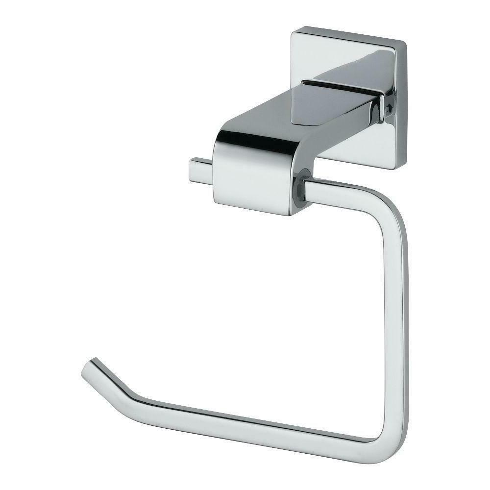 Delta 77550 Ara Single Post Toilet Paper Holder, Chrome