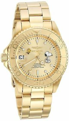 Invicta 24788 Character Collection Men's 40mm Gold-Tone Stee