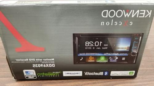 Kenwood Excelon DDX6903S Double Din In Dash Touch Screen Wit