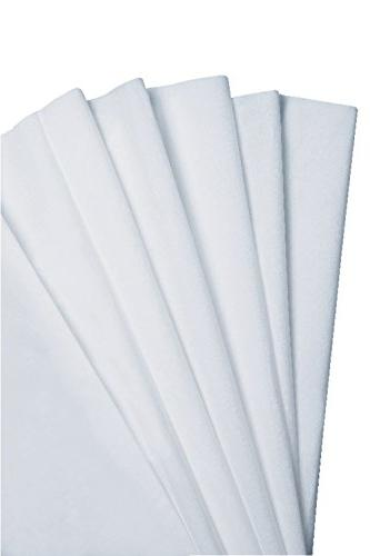 """Kimberly-Clark Kimtech Science Delicate Disposable 8-25/64"""" Length Width, White"""