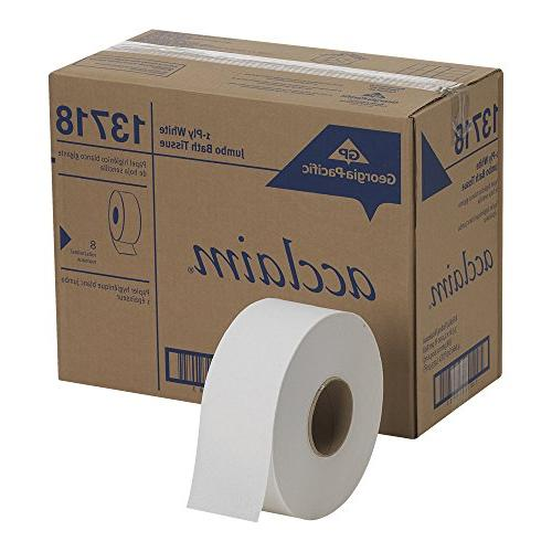 """Georgia-Pacific 1-Ply Tissue, Length 3.5"""" Width"""