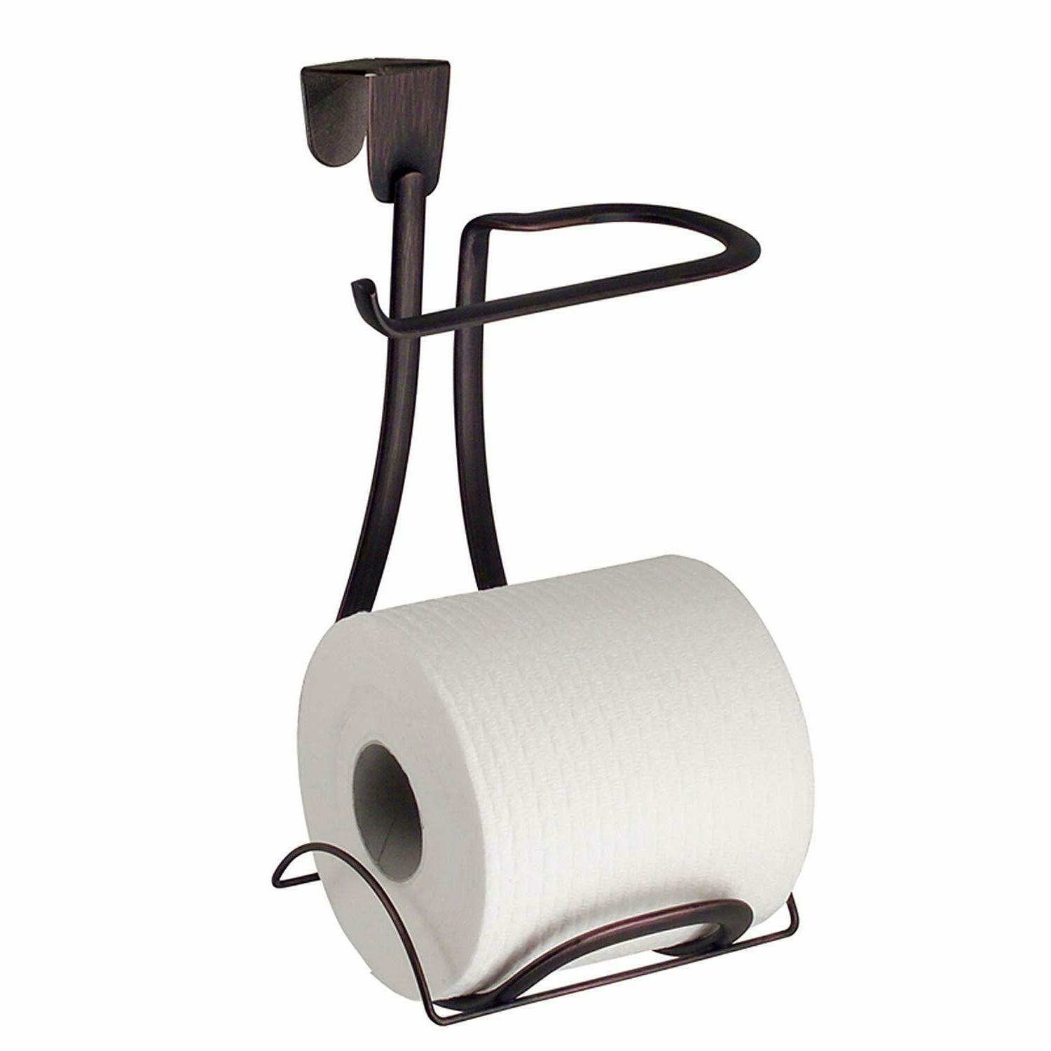 axis metal toilet paper holder over