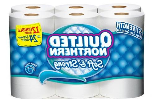 bath tissue soft strong double